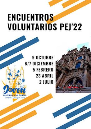 Encuentros de voluntarios PEJ22