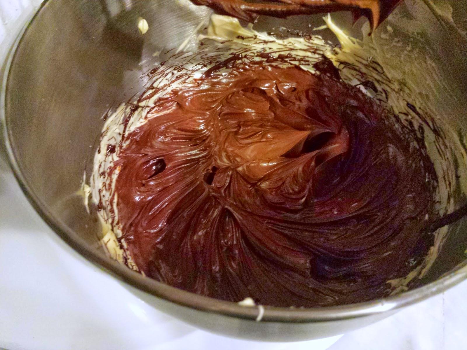 El festn de Marga Cobertura brillante frosting de chocolate vegana