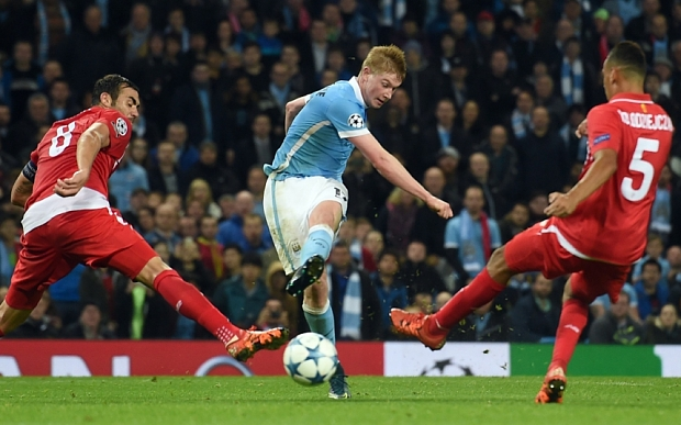 Sevilla vs Manchester City
