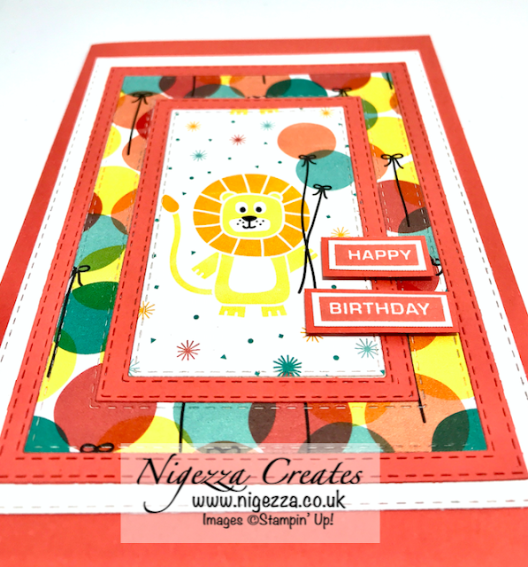Nigezza Creates with Stampin' Up! &  Birthday Bonanza for the Stamp N Hop March Blog Hop