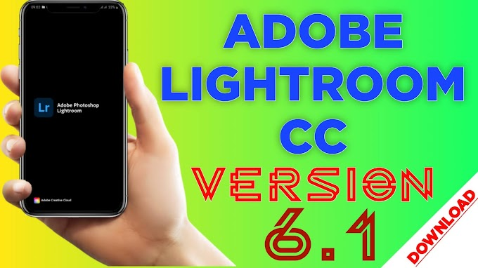 Adobe Lightroom Cc update version 6.1 | vicky creation zone |2020