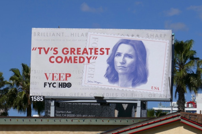 Veep 2019 Emmy consideration billboard