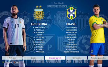 Parche Guaraní   El Mejor Parche Sudamericano   PES2020   PC