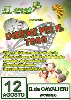 LUNEDI' 12 AGOSTO 2013 Insieme per il Togo