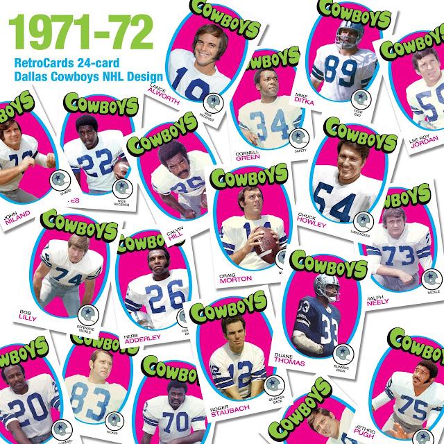 Topps 1971-72 hockey, NHL