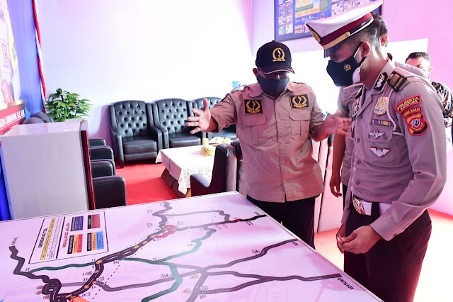 Mau Tau ?.. Pos Sekat Larangan Mudik Dalam Rangka Operasi Ketupat Lodaya 2021 Diwilayah Provinsi Jabar