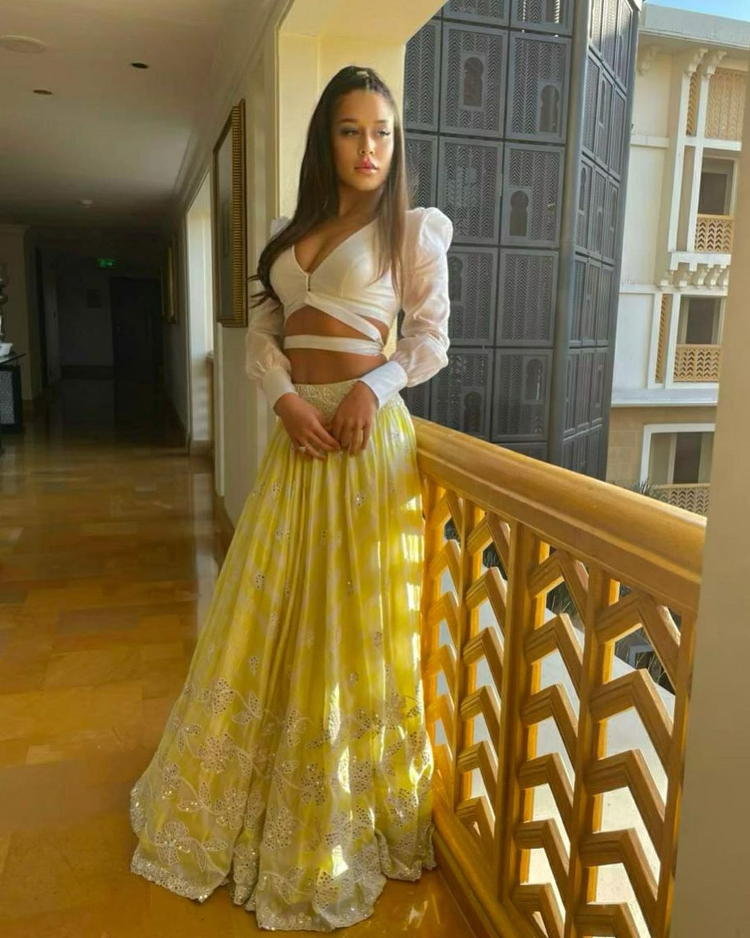 Actress krishna shroff Latest Hot Bikini Photos