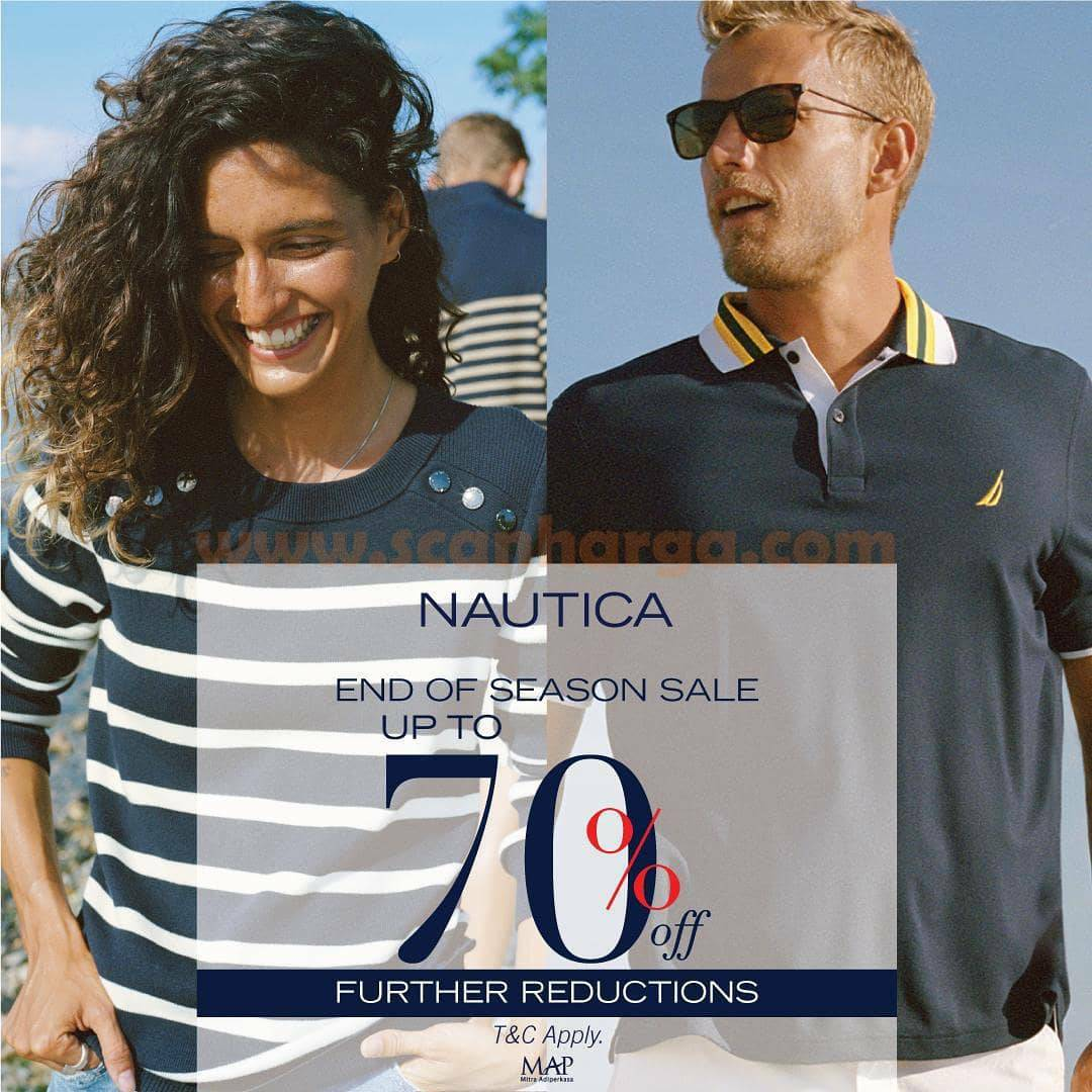 NAUTICA End Of Season Sale Further Reductions Disc Up to 70%