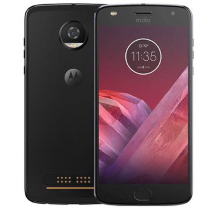 Lenovo Moto Z2 Smartphone - Specs: 5.5Inch Screen, Snapdragon 626 OctaCore, 64Gigabytes, 4G..