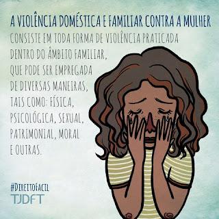 FORMAS DE VIOLÊNCIA DOMÉSTICA E FAMILIAR