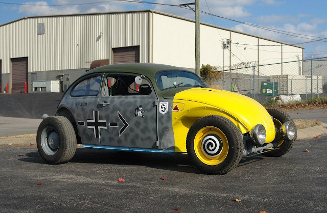 Messerschmitt Bf 109 Yellownose VW Rat Rod