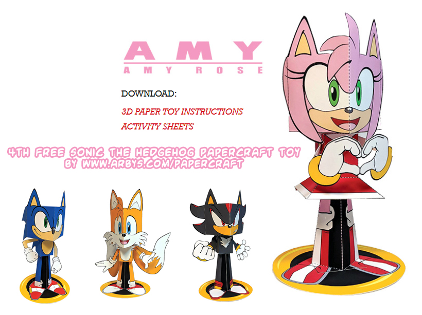 sonic the hedgehog 2020 amy rose