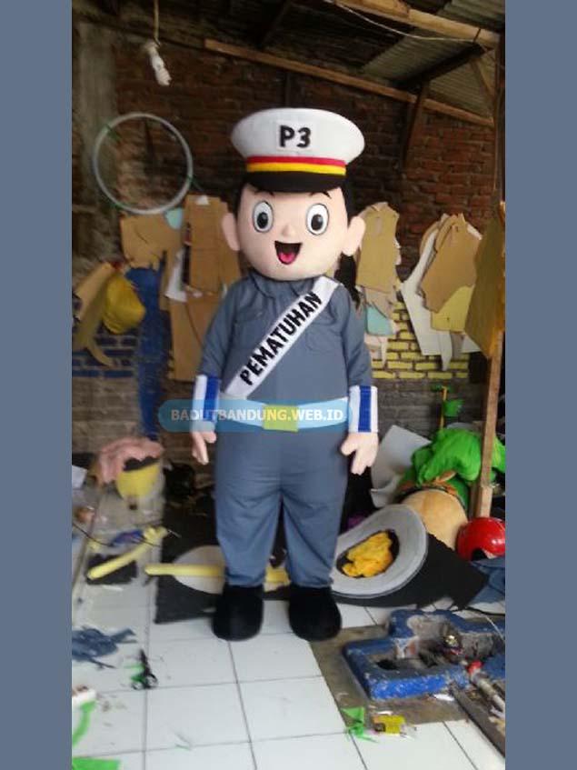 Badut P3 maskot pematuhan polisi