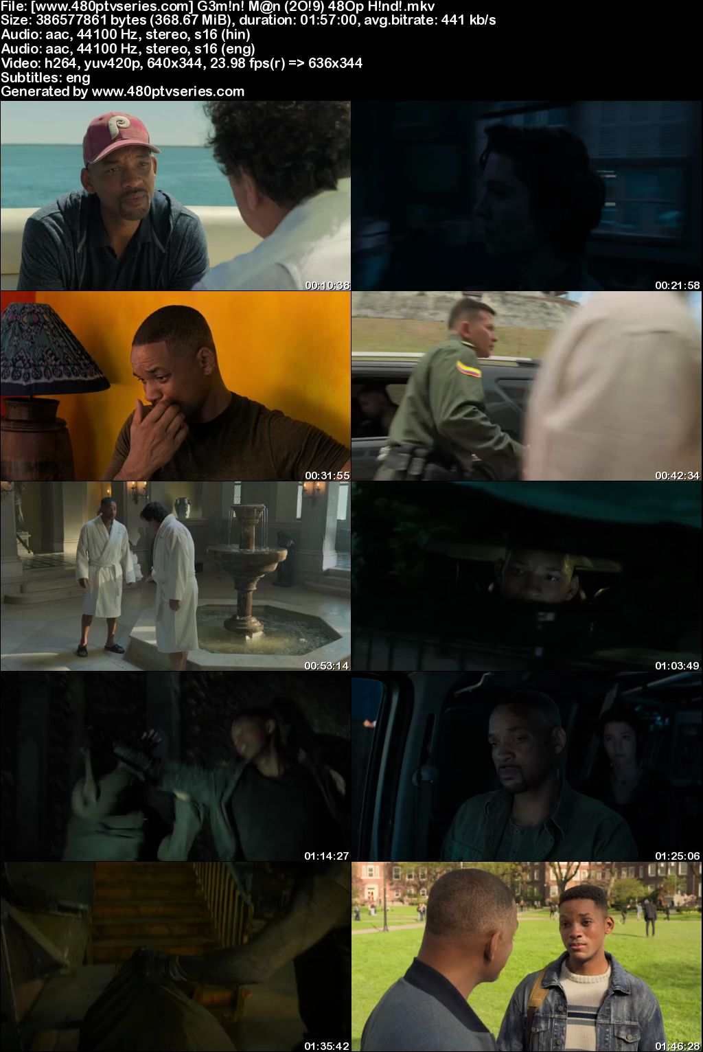 Gemini Man (2019) 350MB Full Hindi Dual Audio Movie Download 480p Bluray Free Watch Online Full Movie Download Worldfree4u 9xmovies
