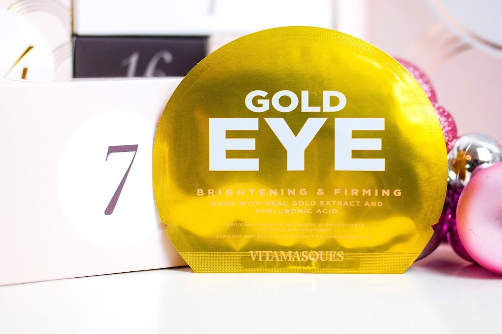 Tür 7 Vitamasques Gold Eye Pads