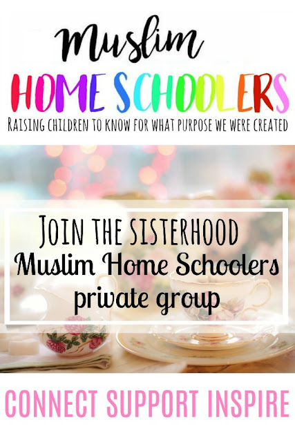 Muslim Home Schoolers - a private facebook group for women to connect, support and inspire to build awesome home schools across the globe that rock inshaAllah!