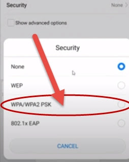 طريقة إضافة شبكة مخفية على هاتفك