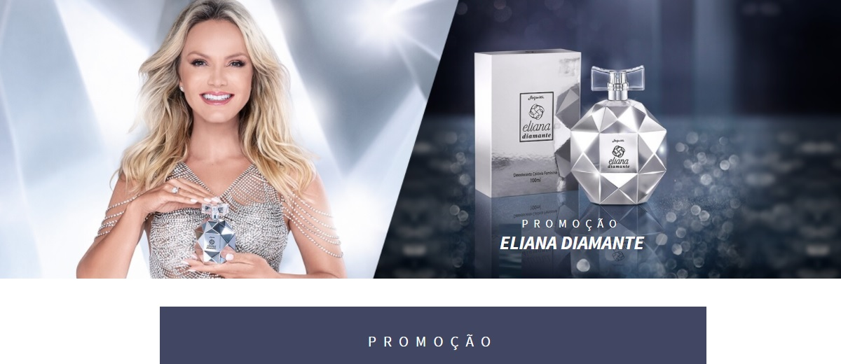Promoção Eliana Diamante Jequiti Cadastrar - Concorra à Desodorante Colônia Lançamento
