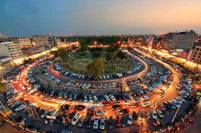 Liberty Market evening view Lahore,Pakistan