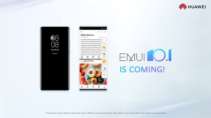 EMUI 10.1 global rollout