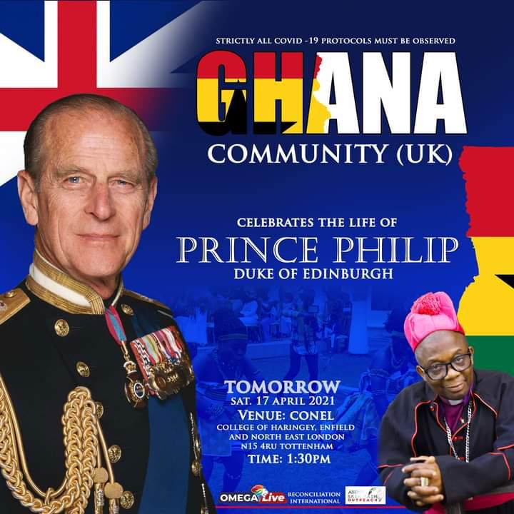Ghanaians in UK Cebrities The Late Prince Philps