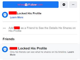 Facebook Profile Locked Tutorial