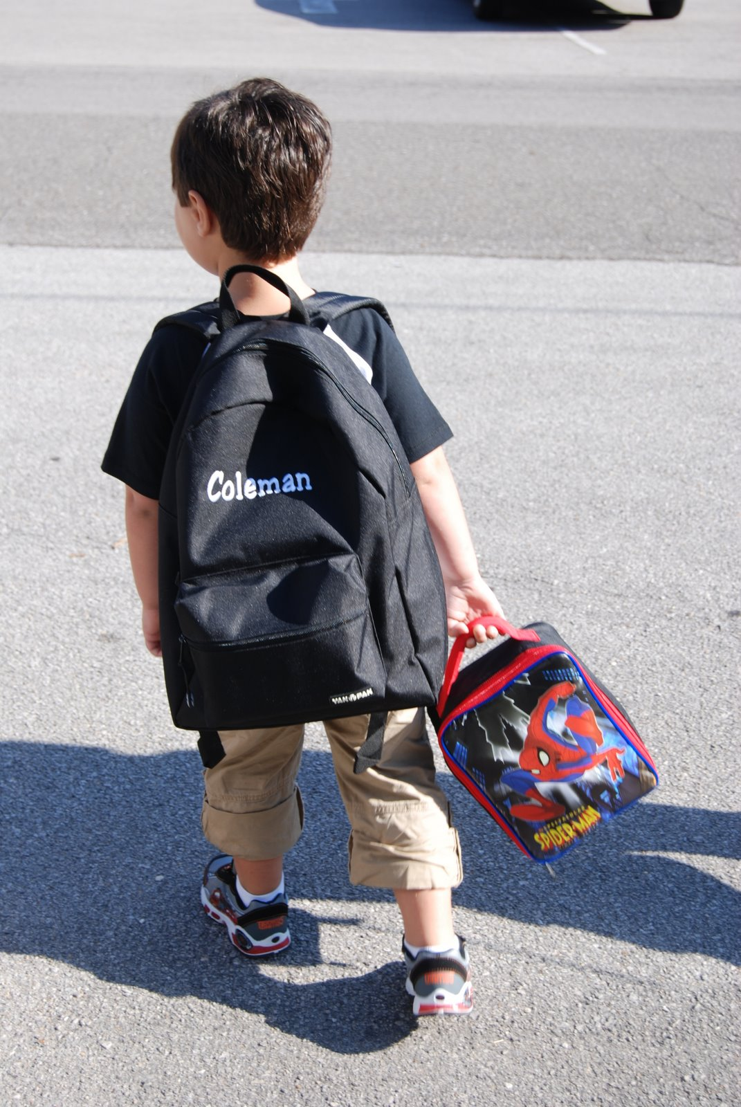 The Lantrip Family: My Big Boy Going To School