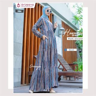 Gamis Terbaru orizeeya Hawwa dress by Folia grup