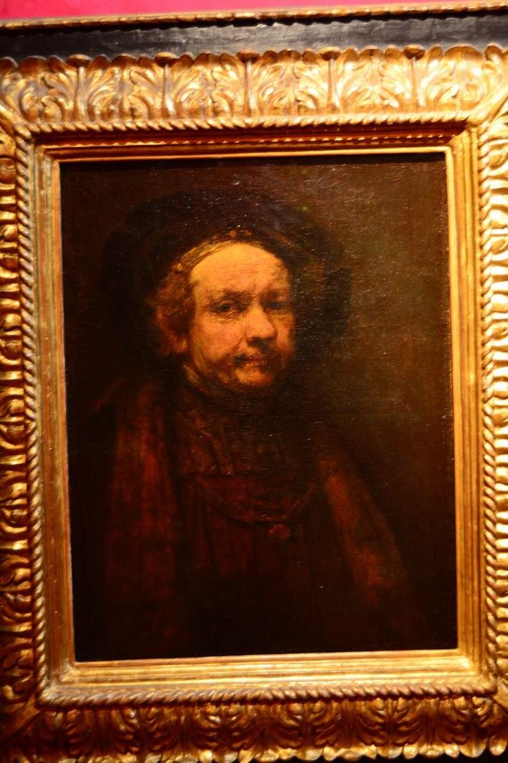 Rembrandt - Portrait d'un vieil homme - 1665