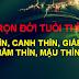 TỬ VI TRỌN ĐỜI TUỔI THÌN : BÍNH THÌN, CANH THÌN, GIÁP THÌN, NHÂM THÌN, MẬU THÌN