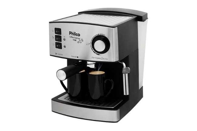 cafeteira expresso sem capsula philco 15 bar