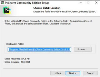 directory for community pycharm