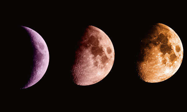 Обряд на исполнение желаний на растущую луну