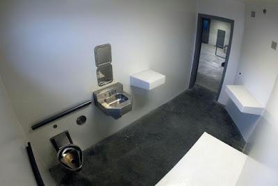 Supermax prison cell