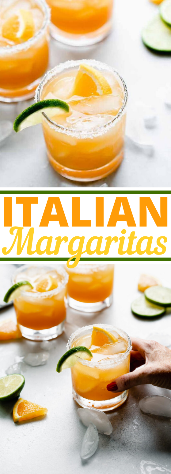 Italian Margarita Recipe with Amaretto #drink #recipes #summer #party #cocktails