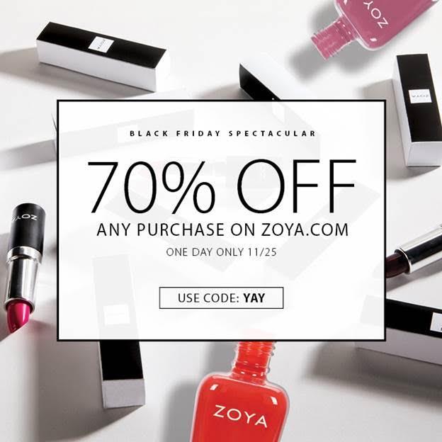 Ehmkay Nails: Zoya Nail Polish Black Friday Sale