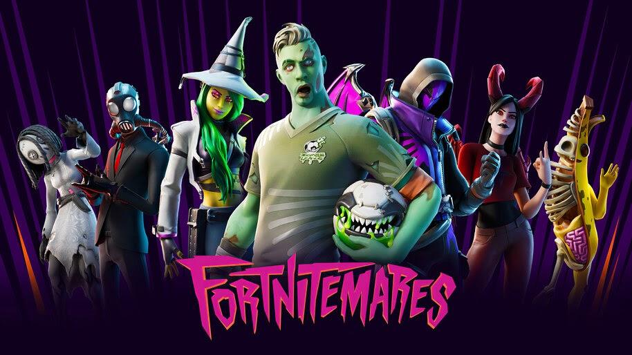 Fortnite, Fortnitemares, Halloween, Skins, 4K, #5.1256