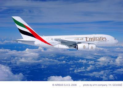 Airbus A380-861, A6-EDA Emirates Airline