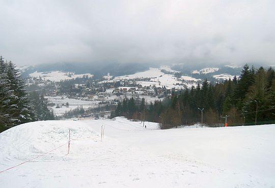Stok narciarski na Polczakówce.