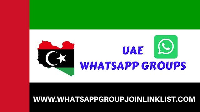 UAE WhatsApp Group Join Link List