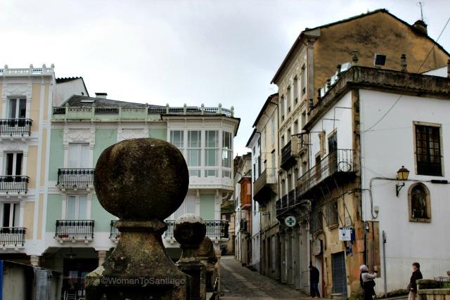 foto de la plaza de mondonedo