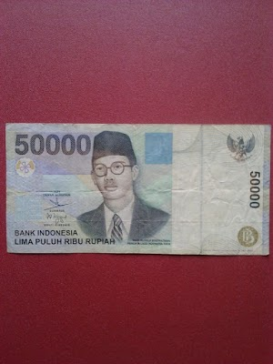50000 rupiah tahun 1999