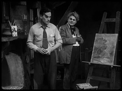 "Карл Миллер и Грэнвилл Редмонд в ""Малыше"" (1921)"