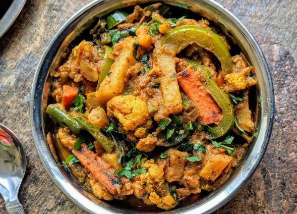 Vegetable Kadai Recipe
