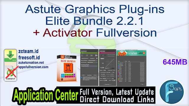 Astute Graphics Plug-ins Elite Bundle 2.2.1 + Activator Fullversion