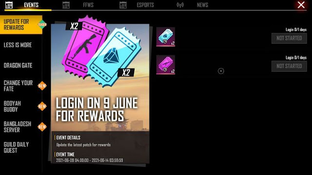 Free Fire OB28 Update release time, update details, rewards and more