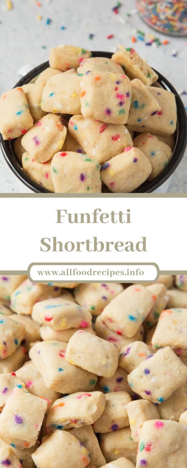 Funfetti Shortbread Funfetti Shortbread