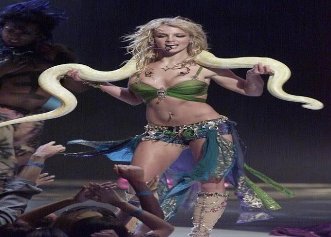 It's been 19 years, and we still can't stop talking about the 2001 VMAs of Britney Spears