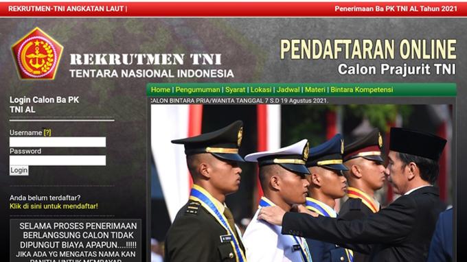 Cara Mendaftar Online Yang Benar Pada Situs Rekrutmen TNI