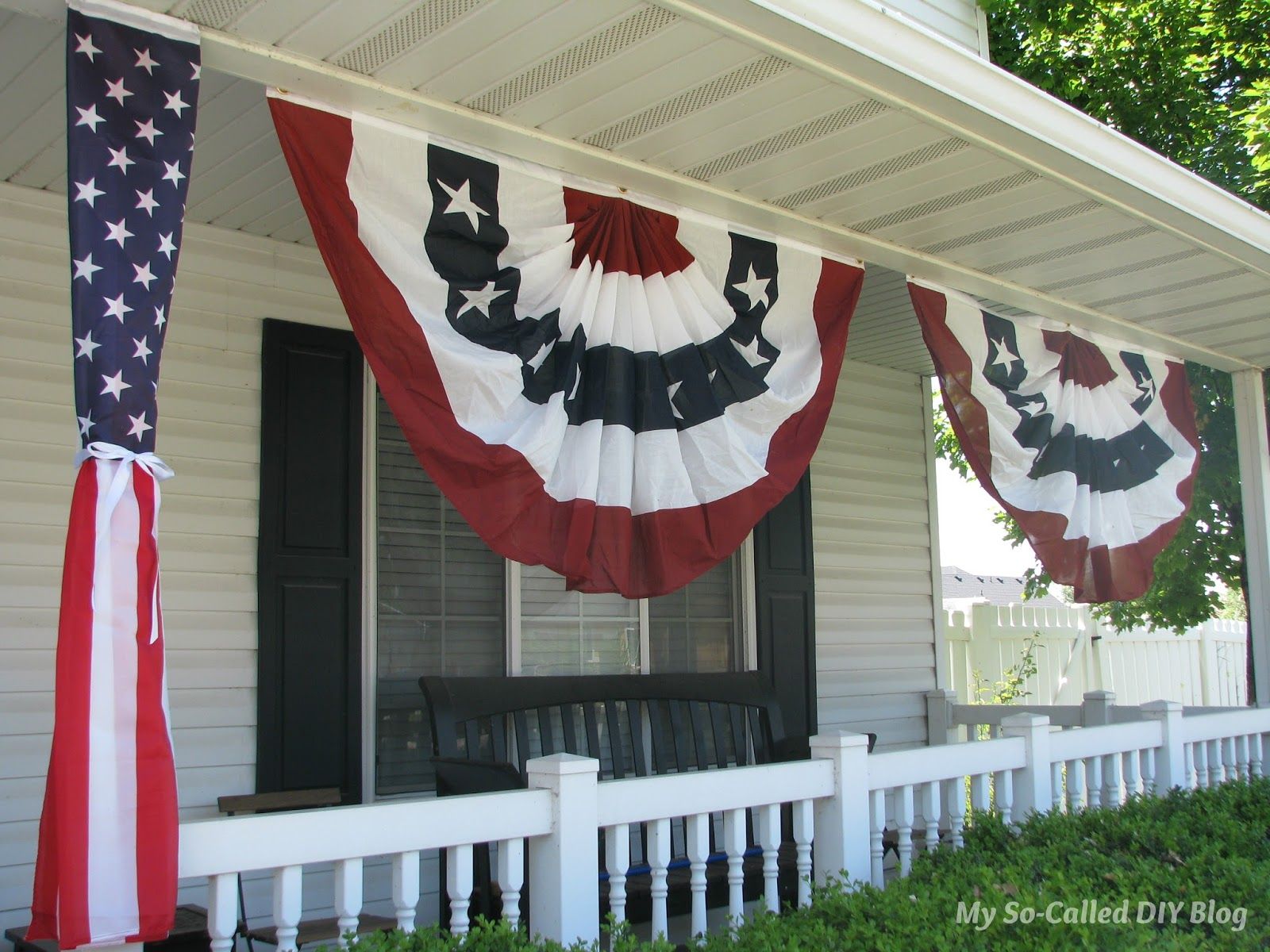 My So Called Diy Blog Patriotic Summer Porch